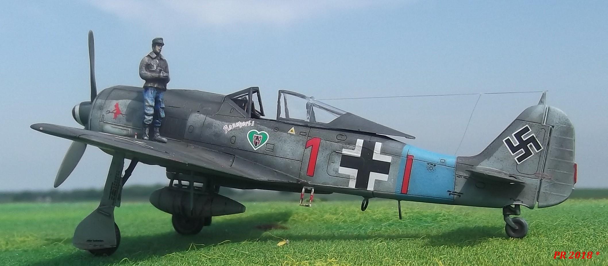 FW190 A8 maquette Eduard 1/72 Ab0510