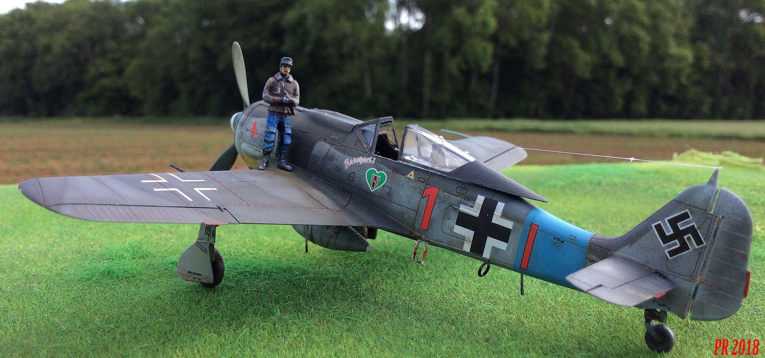 FW190 A8 maquette Eduard 1/72 Af0310