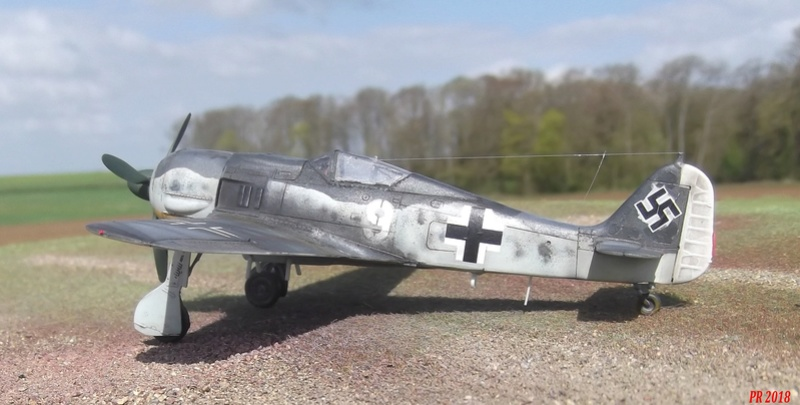 FW 190 G8 R 5 maquette Revell 1/72  G8_1210