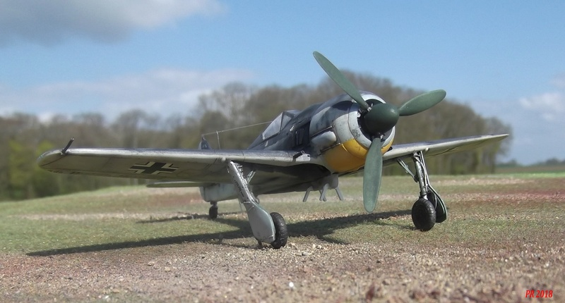 FW 190 G8 R 5 maquette Revell 1/72  G8_3110