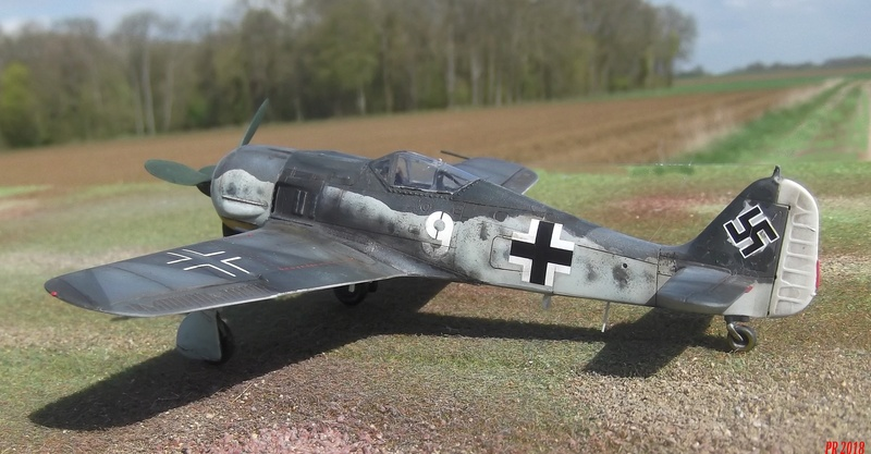 FW 190 G8 R 5 maquette Revell 1/72  G8_5210