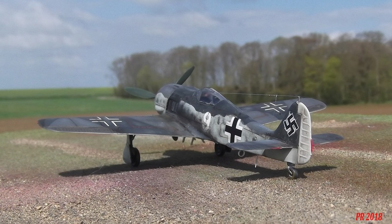 FW 190 G8 R 5 maquette Revell 1/72  G8_5310