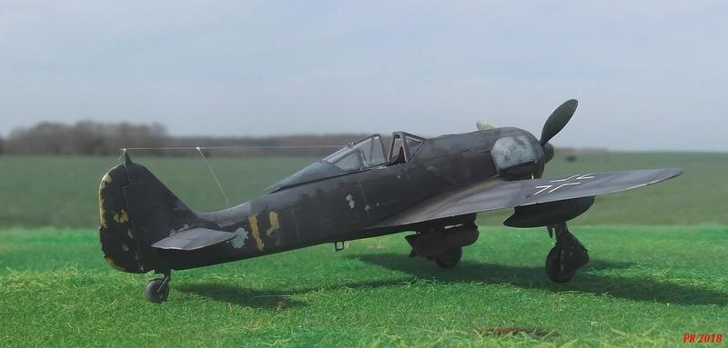Fw 190 A4 u8 de Zvezda  U8_00910