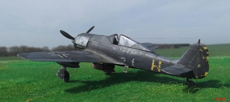 Fw 190 A4 u8 de Zvezda  U8_01710