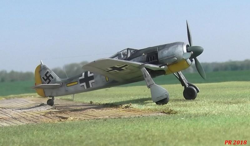 Fw 190 A4 Zvezda 1/72 Zw_0110