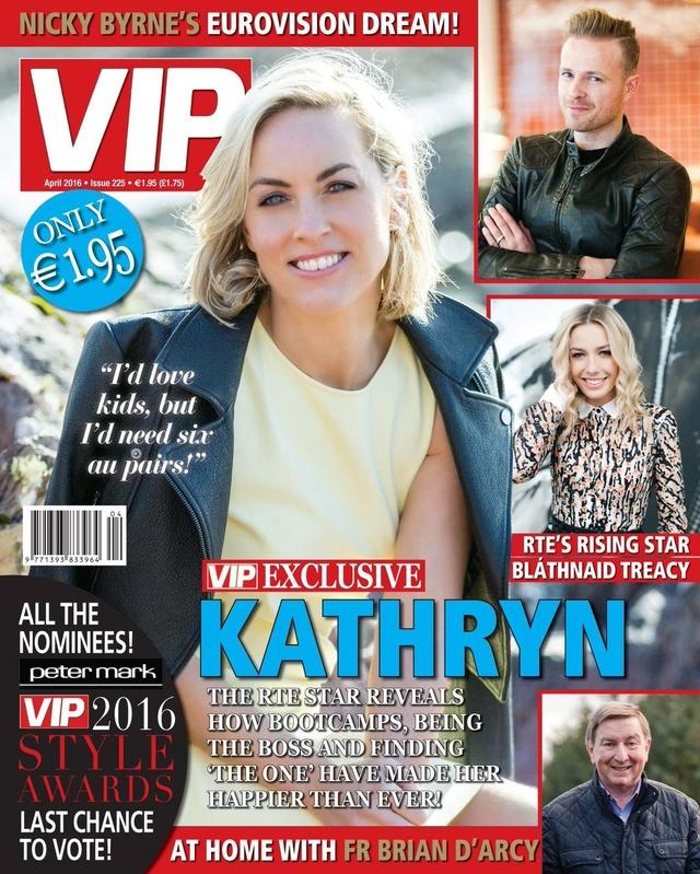 Nicky en la portada de VIP Magazine 0110