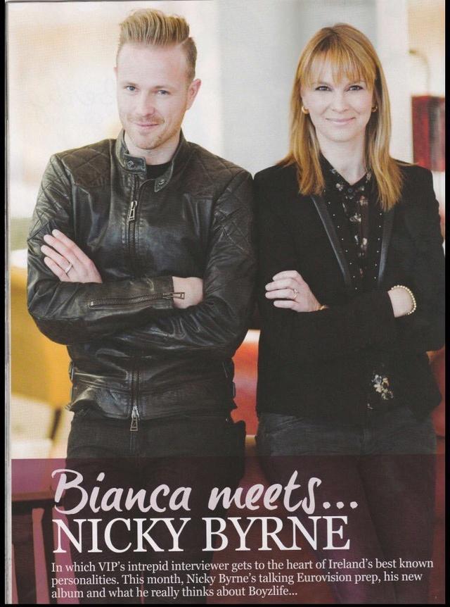Nicky en la portada de VIP Magazine 0210