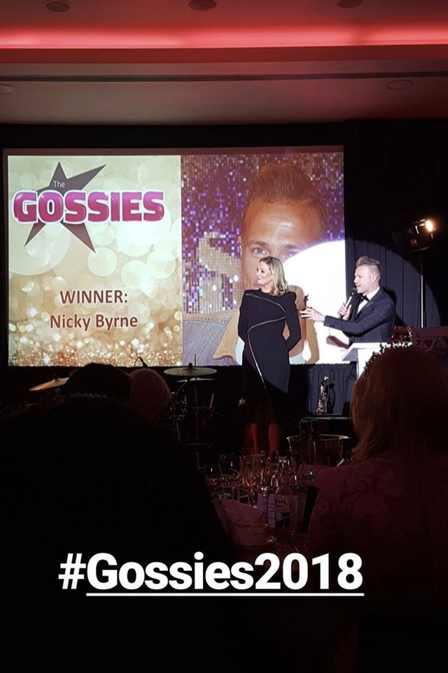 Doble triunfo para Nicky en the Gossies 2018 03_9610