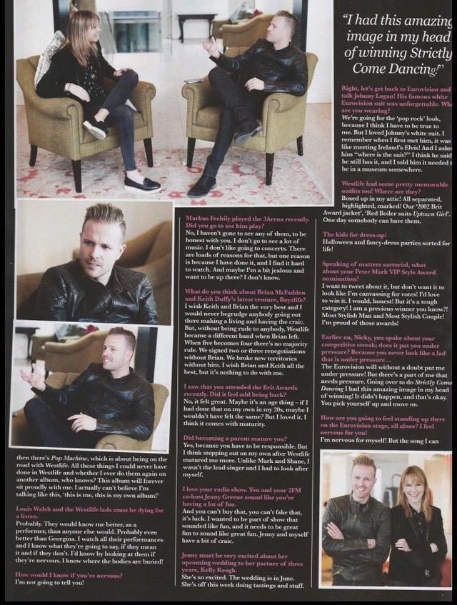 Nicky en la portada de VIP Magazine 0410