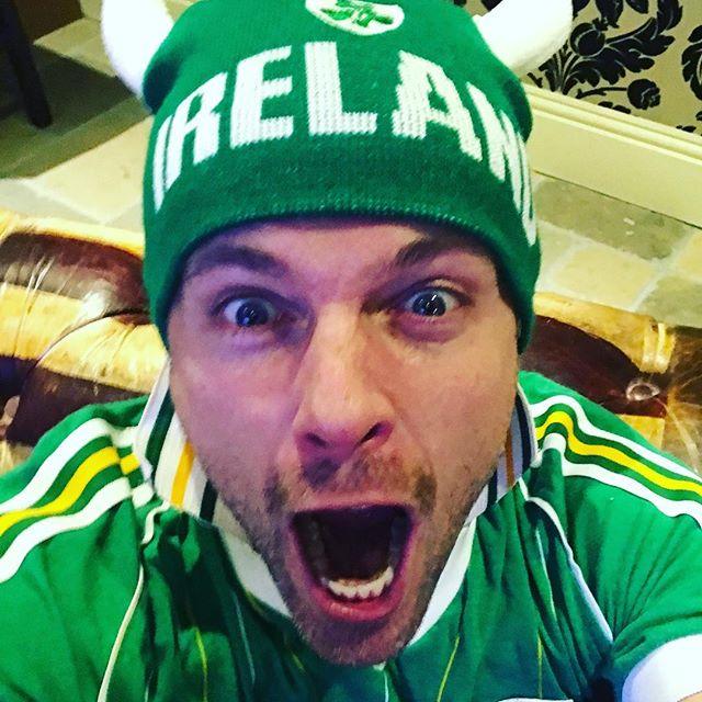 Nicky celebra el triunfo de Irlanda 22344710