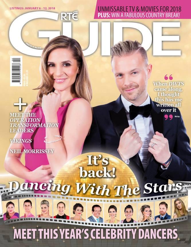 Nicky y Amanda Byram en la portada de RTE Guide 26166310