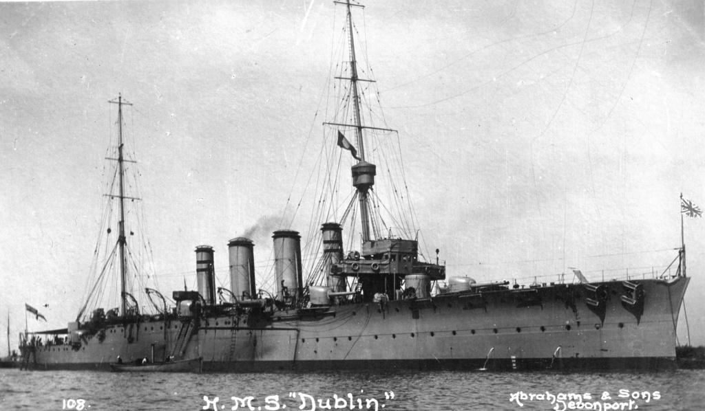 CROISEURS DE LA ROYAL NAVY ET DU COMMONWEALTH - Page 3 Dublin11