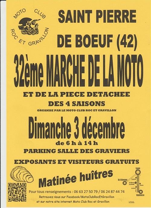 3 décembre 2017 : bourse moto à Saint Pierre de Bœuf (42) Decemb10