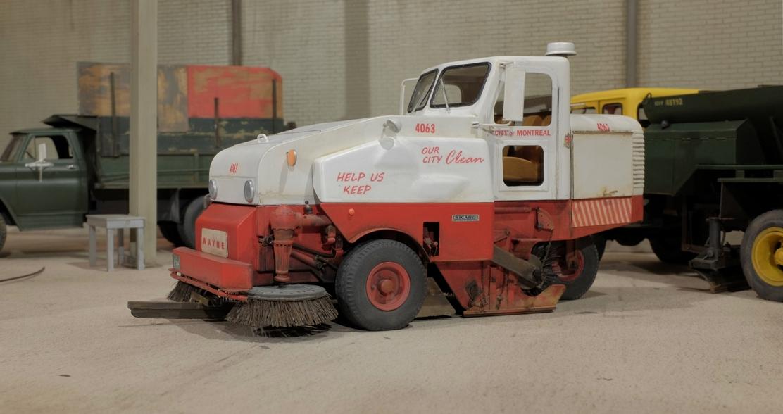 WAYNE balais municipal, street sweeper 410