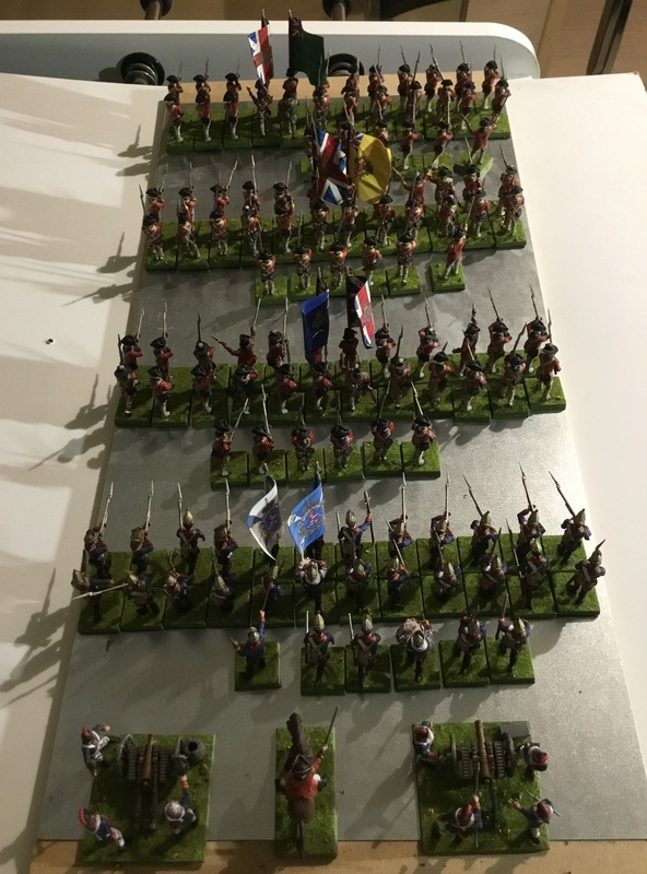 28 mm AWI Boite LIBERTY OR DEATH de Warlord game neuf très bien peint 6a322b10
