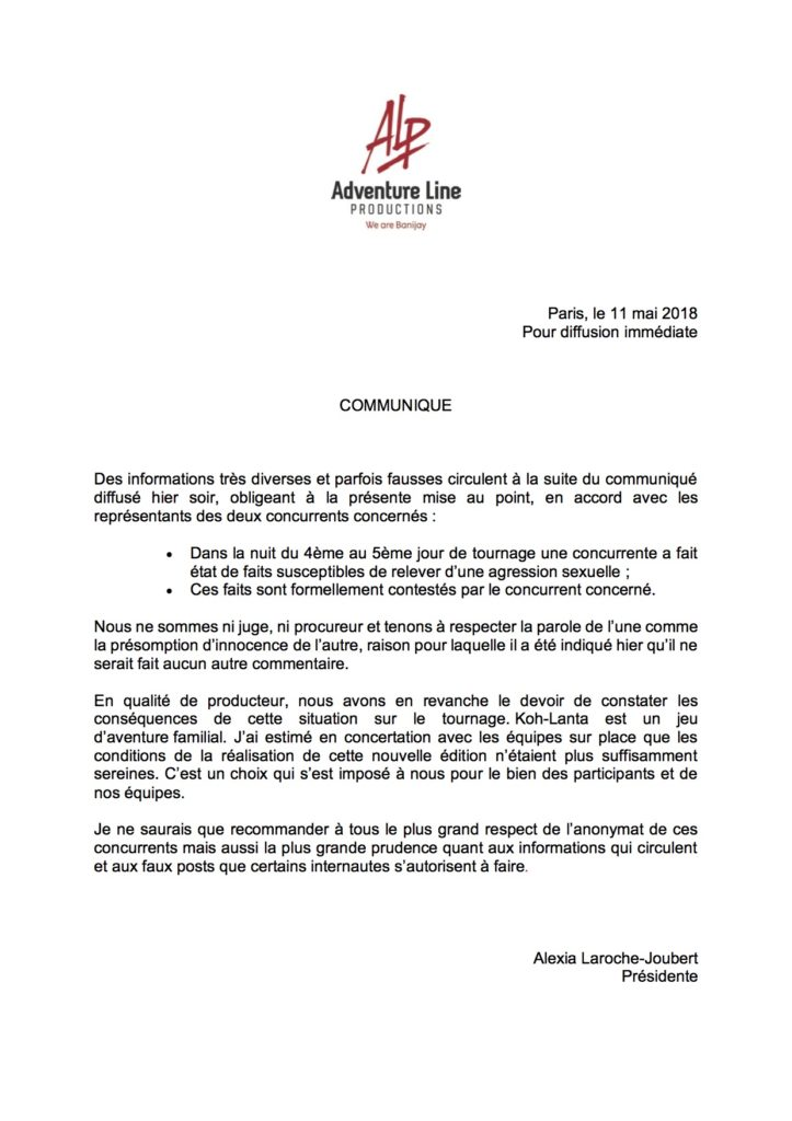 Koh Lanta 19 - TF1 - Annulé - Page 2 Cp-ale10