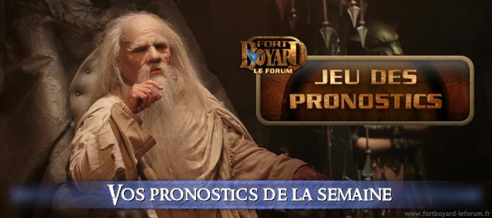 [FERME ]Vos pronostics pour l'émission 1 du samedi 23/06/2018 Pronos12