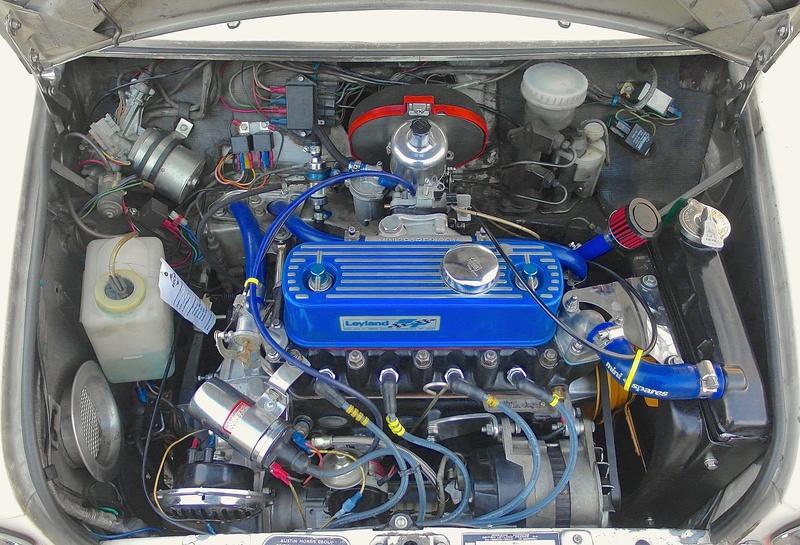 Rover Cooper 91 et Leyland 1100 77 et Riley Elf 67 - Page 8 Sam_3113