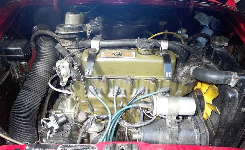 Rover Cooper 91 et Leyland 1100 77 et Riley Elf 67 - Page 8 Sam_3416