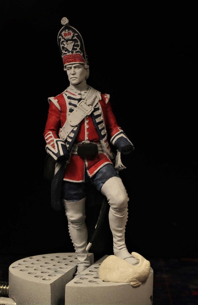 grenadier anglais du 18th Foot en 1751 Img_0573