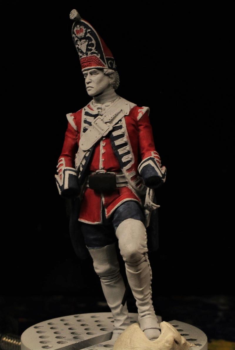 grenadier anglais du 18th Foot en 1751 Img_0574