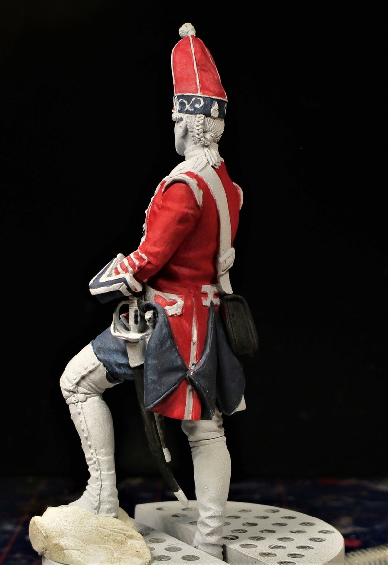 grenadier anglais du 18th Foot en 1751 Img_0575
