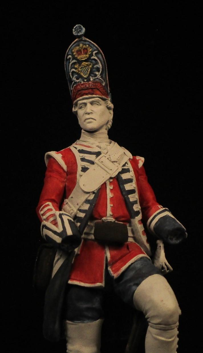 grenadier anglais du 18th Foot en 1751 Img_0584