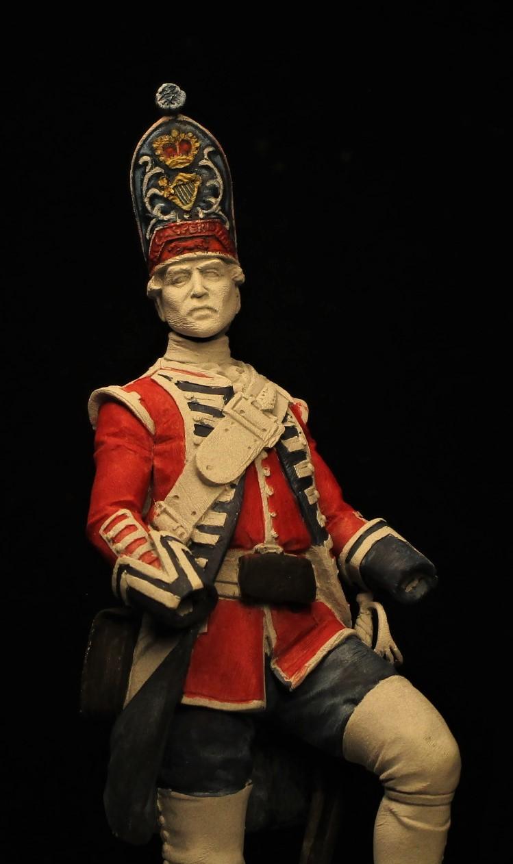 grenadier anglais du 18th Foot en 1751 Img_0585