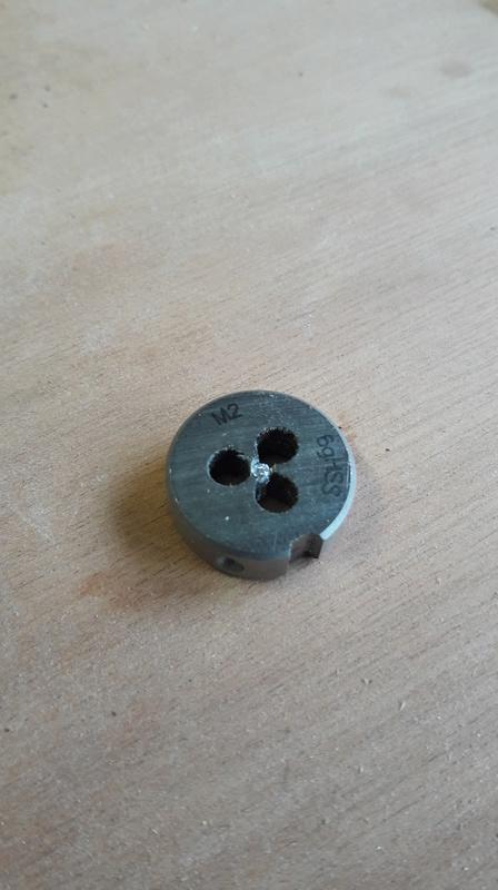 filet cassé dans une filière M2 15122010