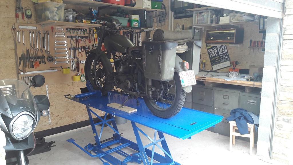 Banc moto fait maison 20170915