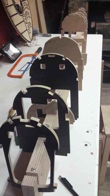 Construction d'un STAMPE SV4 1/3 scale 20171011