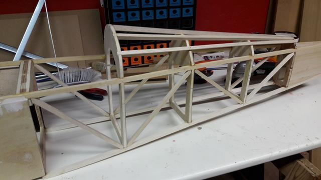 Construction d'un STAMPE SV4 1/3 scale 20171016