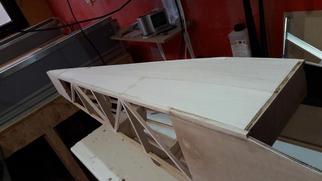 Construction d'un STAMPE SV4 1/3 scale 20171021