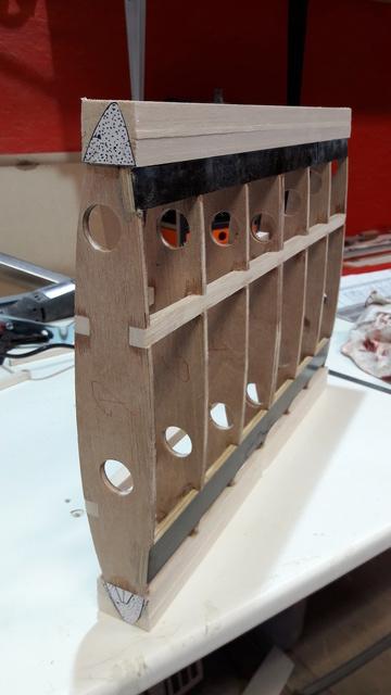 Construction d'un STAMPE SV4 1/3 scale 20171113