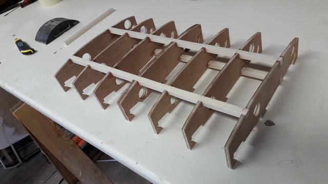 Construction d'un STAMPE SV4 1/3 scale 20171114