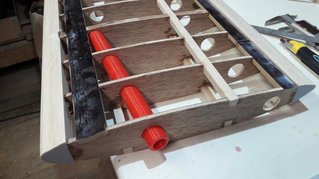 Construction d'un STAMPE SV4 1/3 scale 20171115