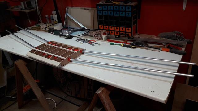 Construction d'un STAMPE SV4 1/3 scale 20171116