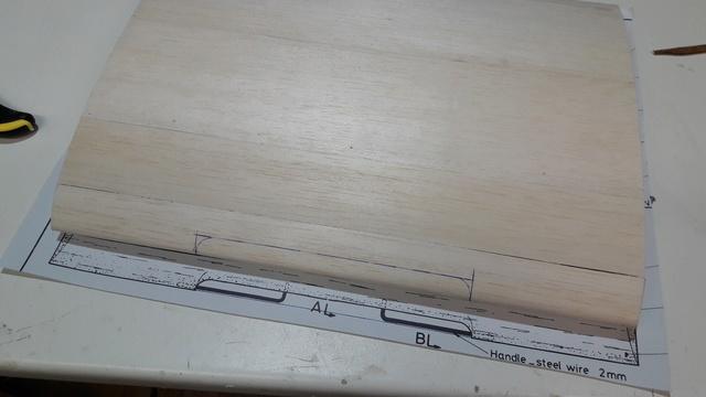 Construction d'un STAMPE SV4 1/3 scale 20171122