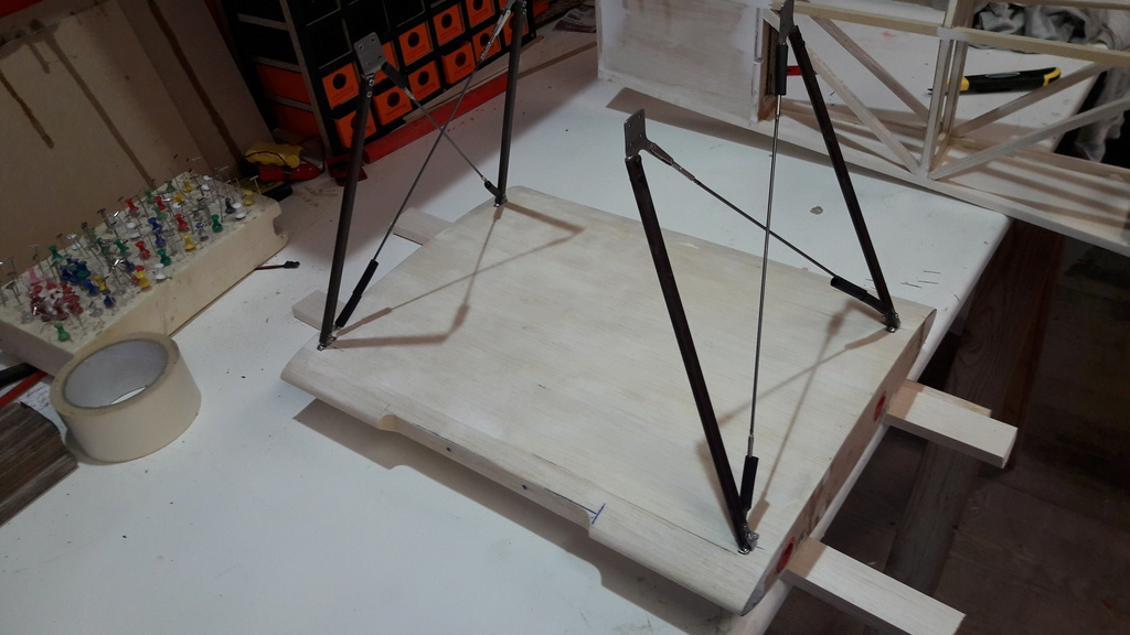 Construction d'un STAMPE SV4 1/3 scale 20171221