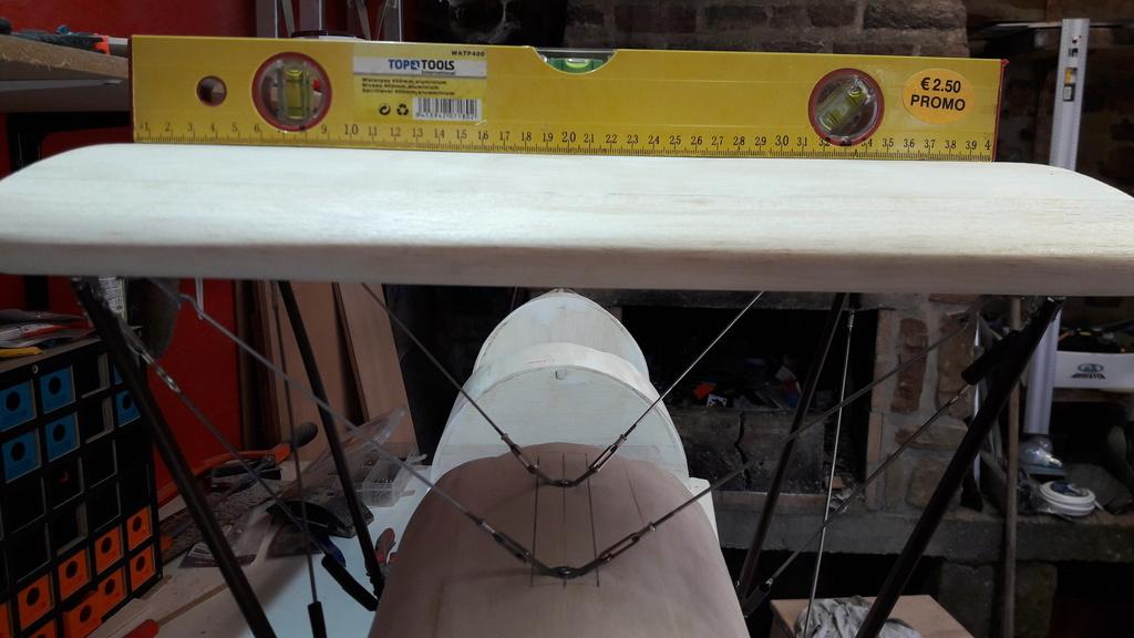Construction d'un STAMPE SV4 1/3 scale 20171223