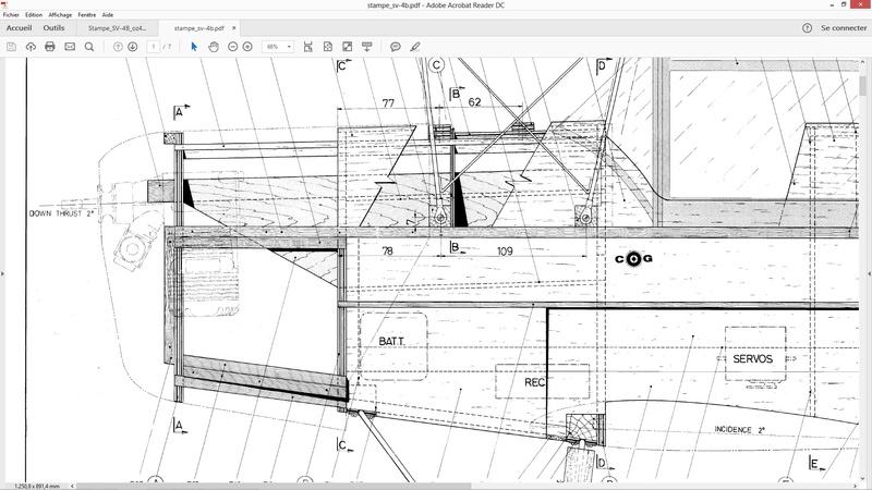 Construction d'un STAMPE SV4 1/3 scale Fusela10