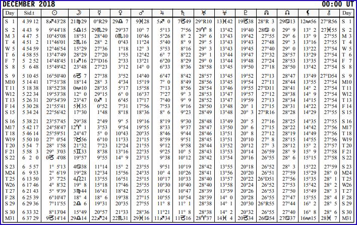 Aspects du mois de Décembre - Page 5 Calend34