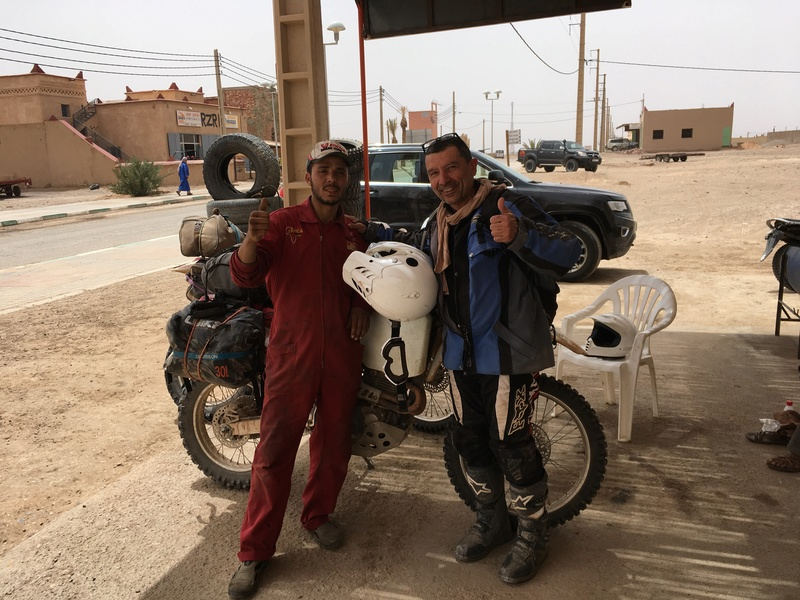 Deux 400 XR back in Morocco 2018   Img_8511