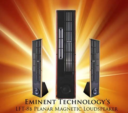 Eminent Technology LFT-8b Loudspeakers  Lft810