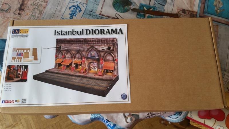 Istanbul Diorama de notre partenaire OcCre 20180320