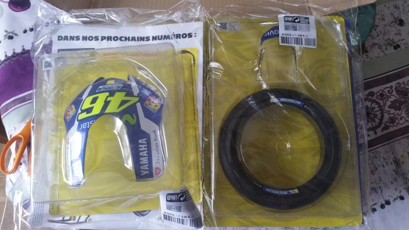 Construisez la moto YZR-M1 de Valentino Rossi en partenariat avec ALTAYA 20180566