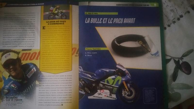 Construisez la moto YZR-M1 de Valentino Rossi en partenariat avec ALTAYA 20180568