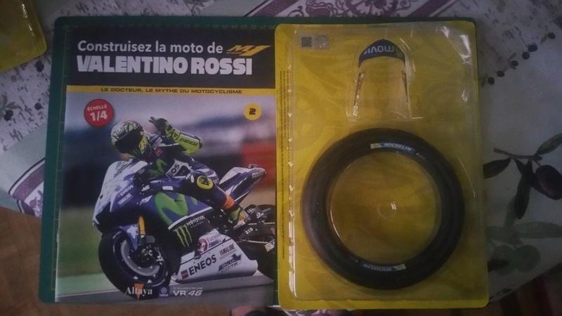 Construisez la moto YZR-M1 de Valentino Rossi en partenariat avec ALTAYA 20180569