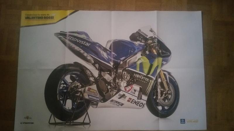 Construisez la moto YZR-M1 de Valentino Rossi en partenariat avec ALTAYA 20180570