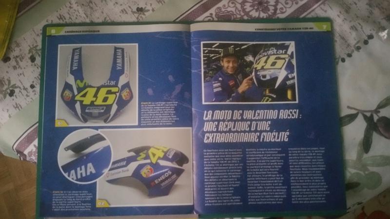 Construisez la moto YZR-M1 de Valentino Rossi en partenariat avec ALTAYA 20180572